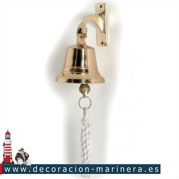 Campana decoración marinera