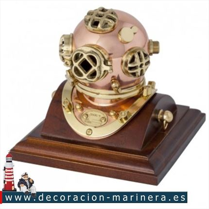 CASCO DE BUZO decorativo