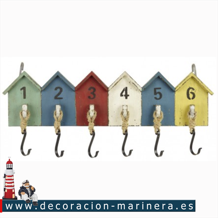 Colgador Casitas de Playa