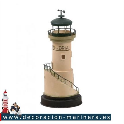 Faro marinero decorativo  MEN BRIAL 24cm