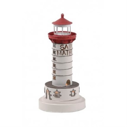 Faro marinero decorativo  SAINT MATHIEU 25cm