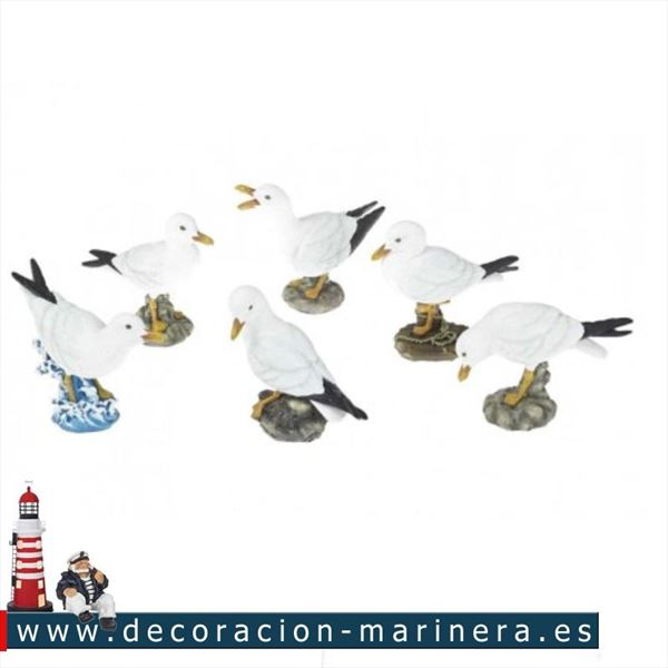 Gaviotas decorativas