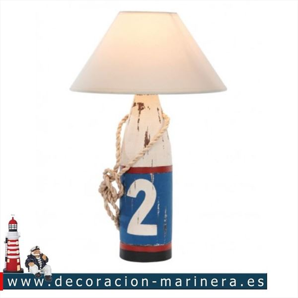Lampara baliza Decoración marina