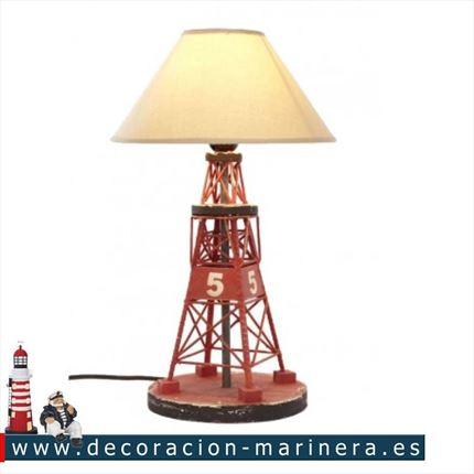 Lampara baliza Decoración marinera