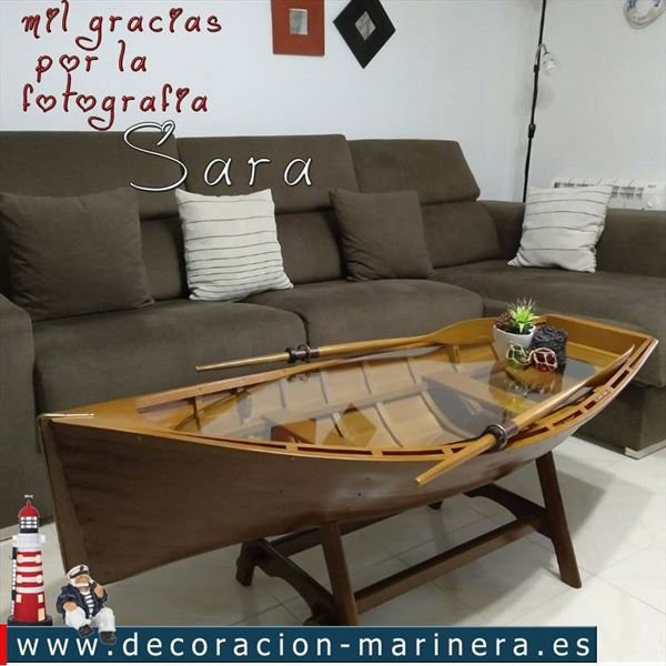 Mesita barca Decoración Marinera (2)