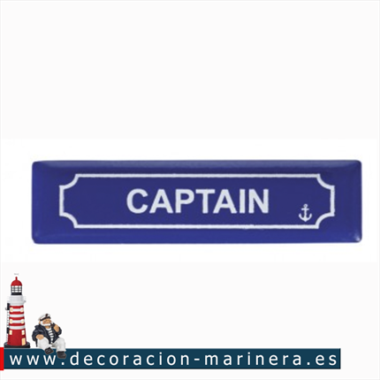 Pack 12 Imanes Placa CAPTAIN