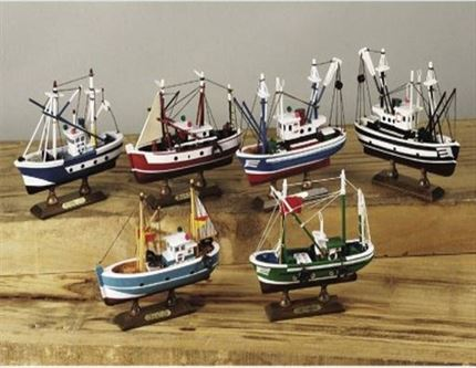 Pack 6 BARCOS ATUNEROS