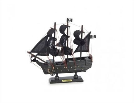 Pack 6 GALEONES PIRATA Black Pearl