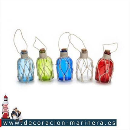 Pack de 10 botellas de colores