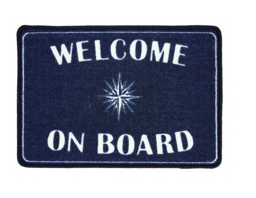 Pack de 2 alfombras WELCOME ON BOARD (1)