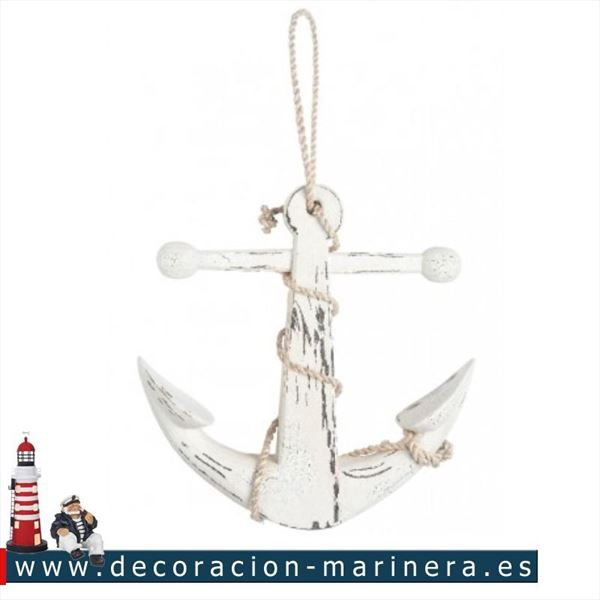 Pack de 2 anclas decorativas 56cm.