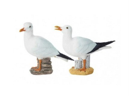 Pack de 2 GAVIOTAS DECORATIVAS