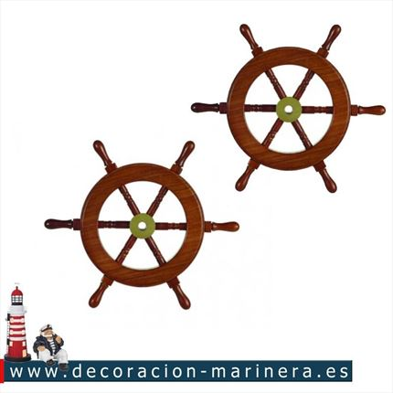 Pack de 2 Timones decorativos 23cm