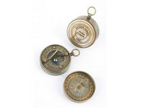 c3d5f7c94252 ... Set de 2 relojes de sol de bolsillo (1)