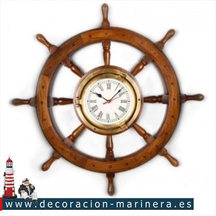 Timon de barco decorativo 47cm
